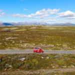 Slådalsvegen – mitten durch den Reinheimen Nationalpark